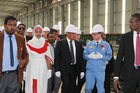 Opening Ceremony of EKOS Rolling Mill Project